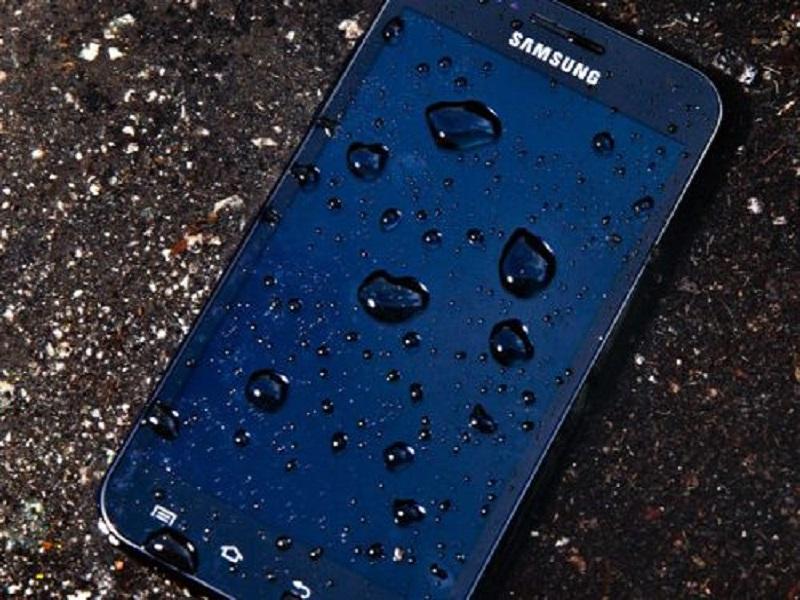 Pantallas hidrofóbicas Samsung