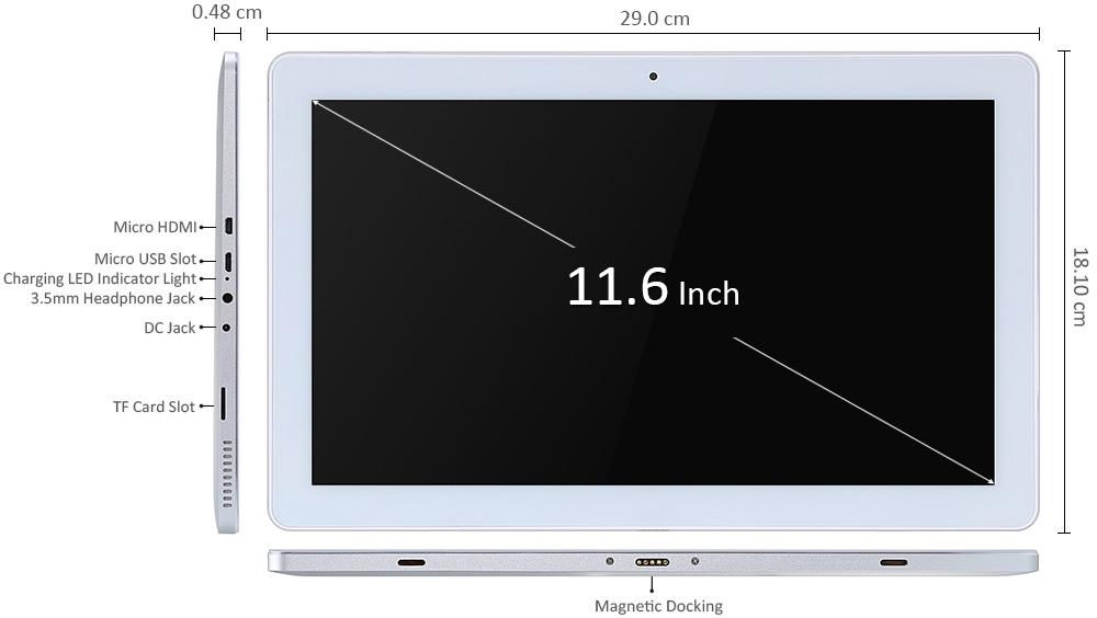 Teclast Tbook 16 Pro cuenta con puerto HDMI