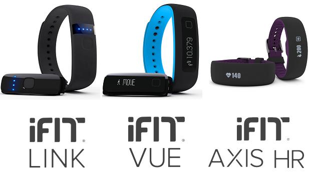iFit Link, Vue y Axis HR
