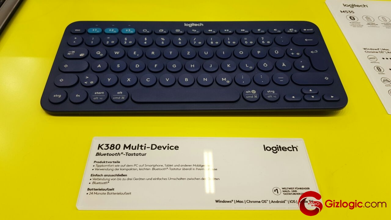 logitech bluetooth multidevice