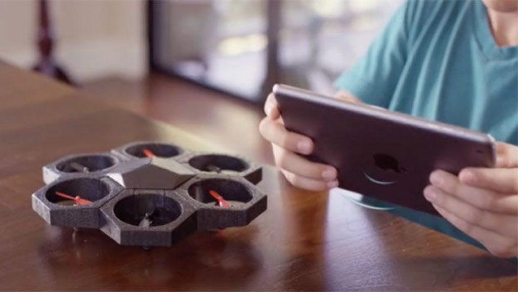 El dron Airblock
