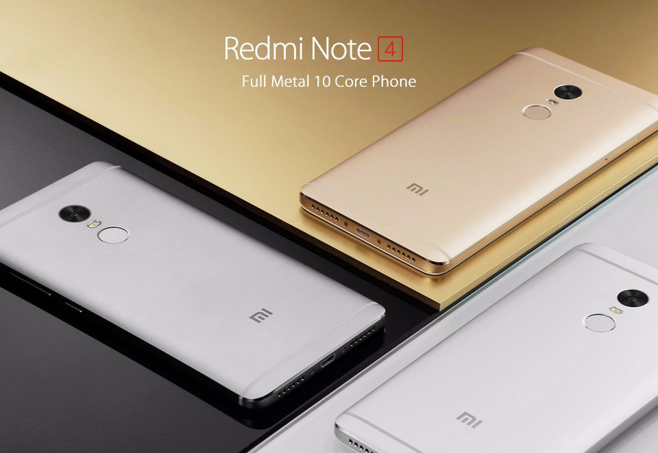 El XIaomi Redmi Note 4 está disponible en 3 colores.