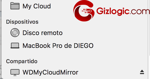 WD My Cloud Mirror integración