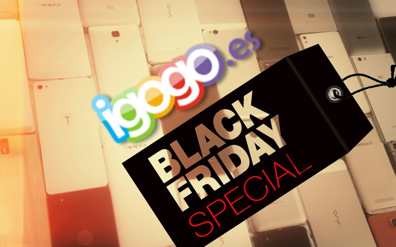 Black Friday en Igogo, descubre los regalos aquí