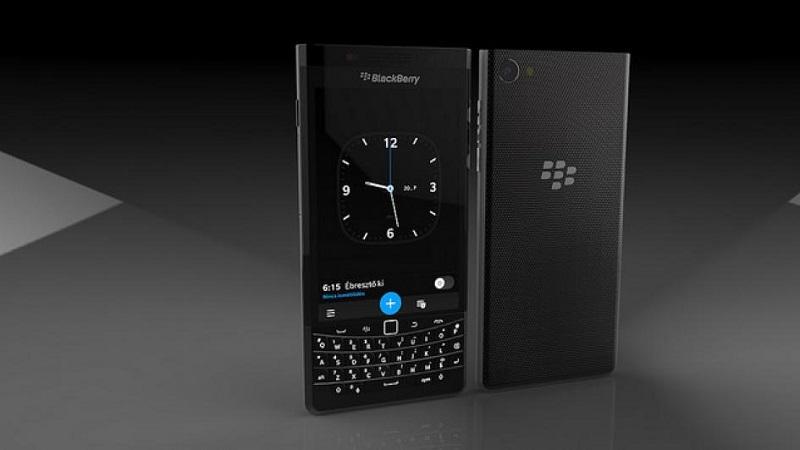 Blackberry en el MWC