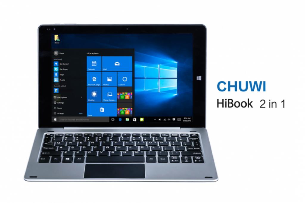 Chuwi Hibook, un 2 en 1 con 64 GB de almacenamiento