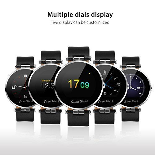 Fantime Smartwatch K8-S, nos permite ver la hora a través de diferentes esferas de reloj