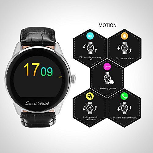 El Fantime Smartwatch K8-S se activa con un simple movimiento de la muñeca