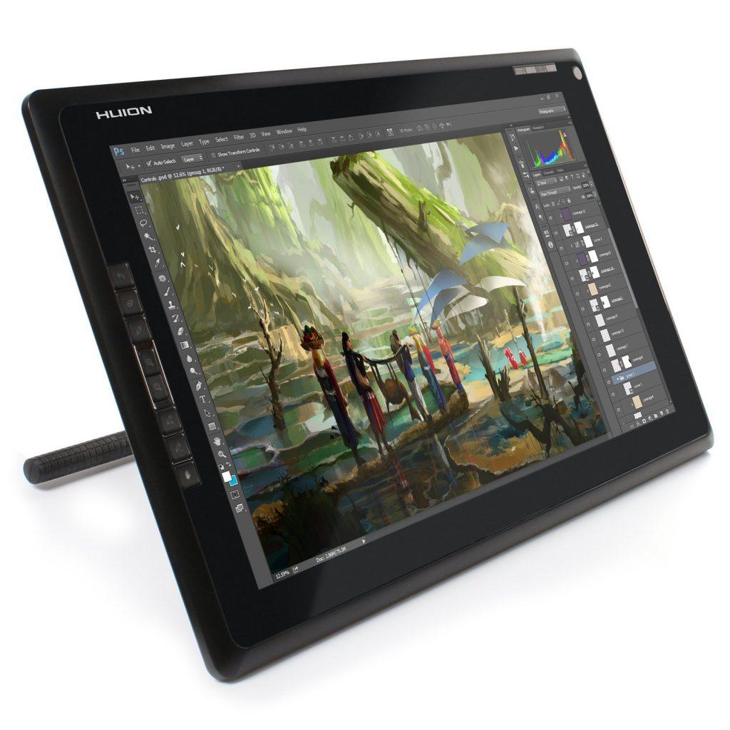 HUION GT-185, una tableta gráfica de diseño ergonómico y gran precisión