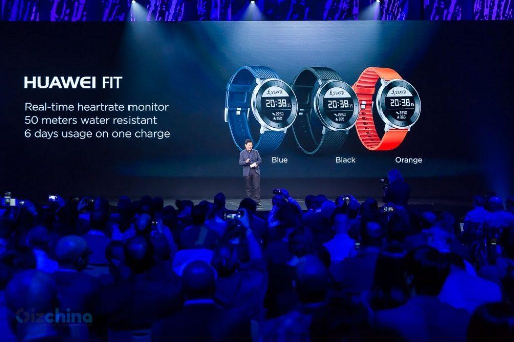 Huawei Fit, un smartwach de tinta electrónica, resistente al agua