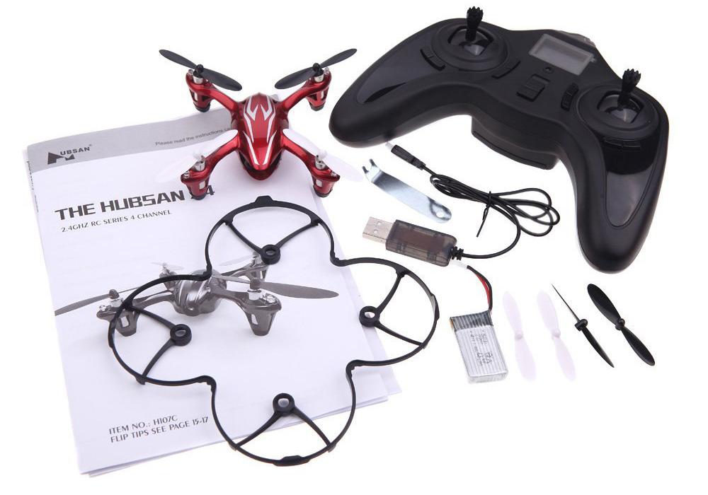 Hubsan 2 - Los mejores drones y los más baratos - Especial de Gizlogic