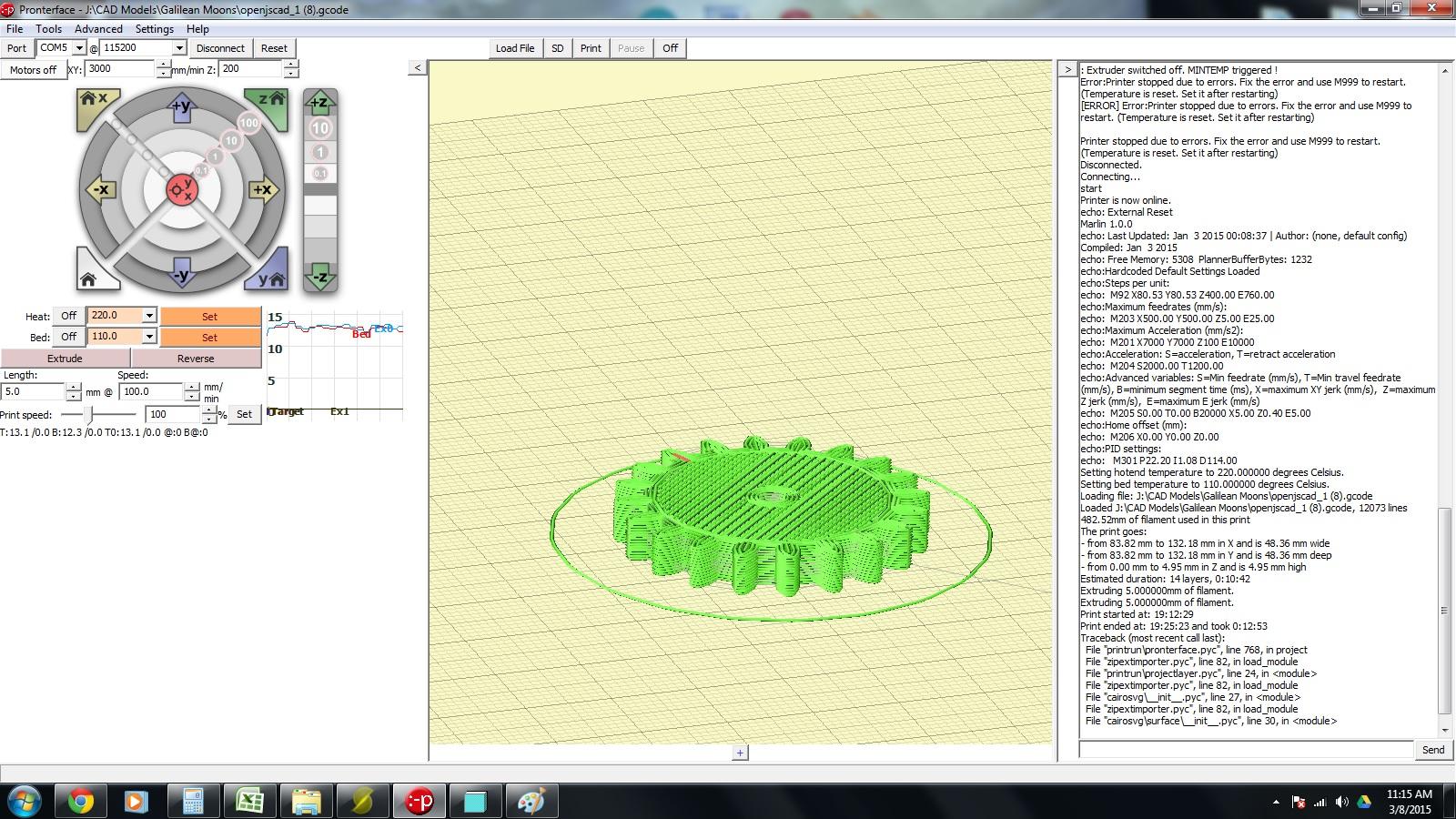 Impresora 3D A8