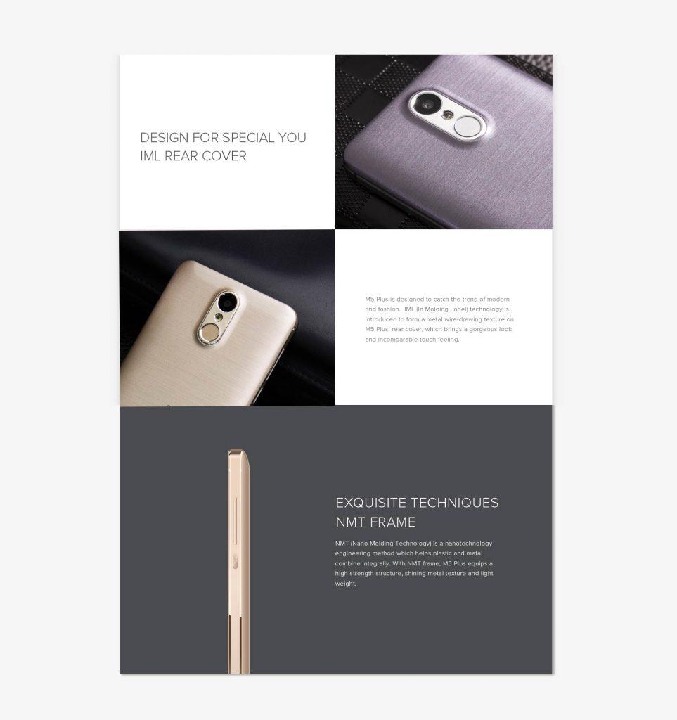 LEAGOO M5 Plus con diseño Premium
