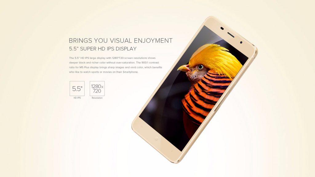 LEAGOO M5 Plus con pantalla IPS HD de 5.5 pulgadas