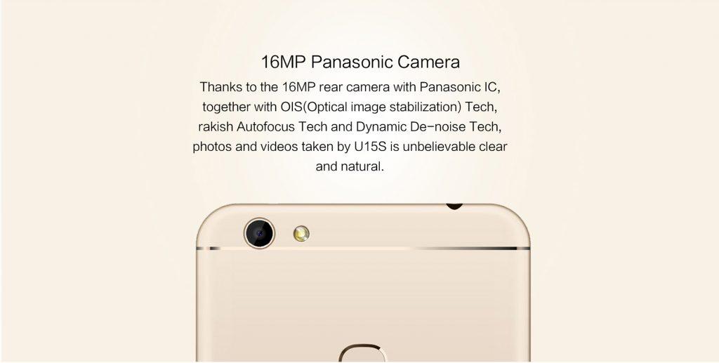 Oukitel U15S con sensor Panasonic de 16 MP