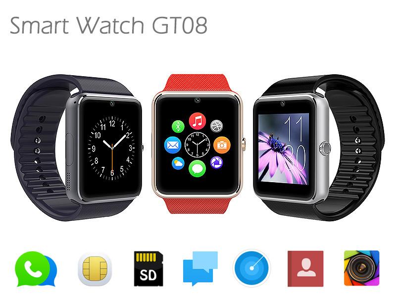 Smartwatch GT08 - Aplicaciones y funciones