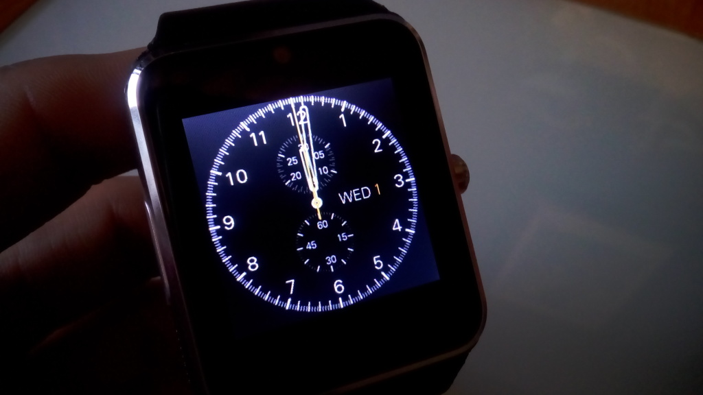 Smartwatch GT08 Pantalla de BloqueoSmartwatch GT08 Pantalla de Bloqueo