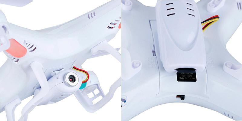Syma X5C-1 diseño - Los mejores drones y los más baratos - Especial de Gizlogic