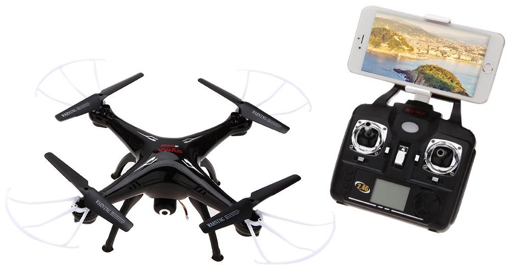 Syma X5SW-1 control - Los mejores drones y los más baratos - Especial de Gizlogic