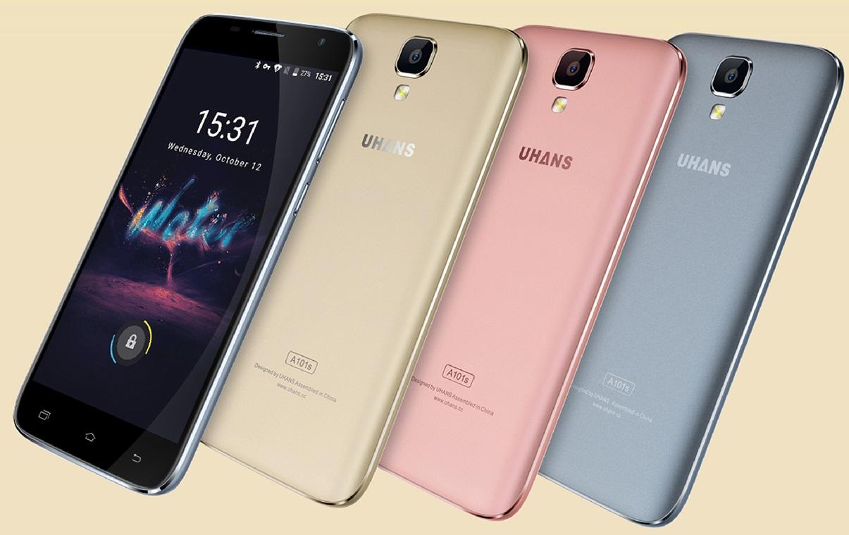 Uhans A101S, un smartphone economico
