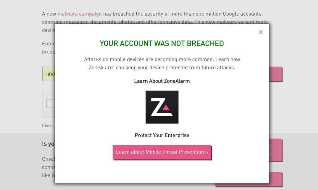 gmail hackeado