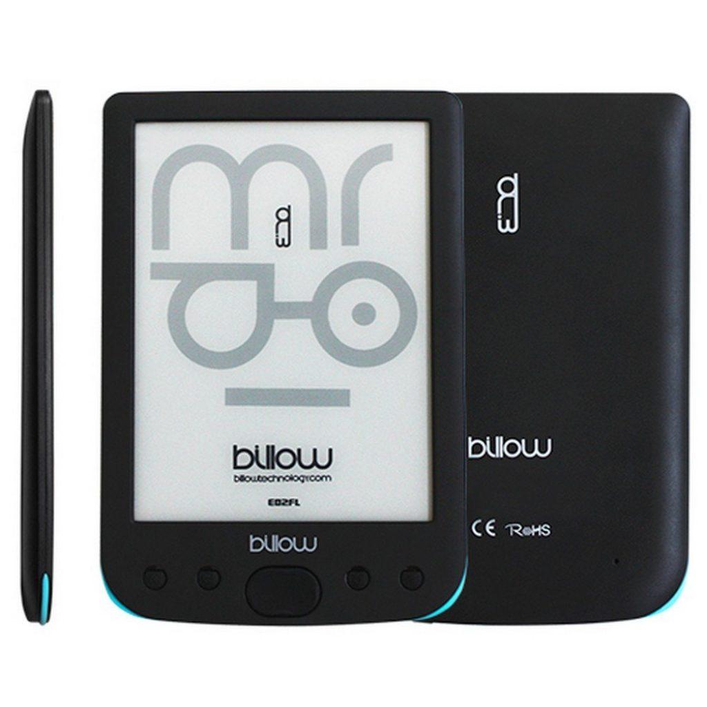 Con el Billow E02FL podrás acceder a 2.800 libros electrónicos