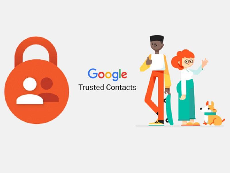 Contactos de confianza de Google