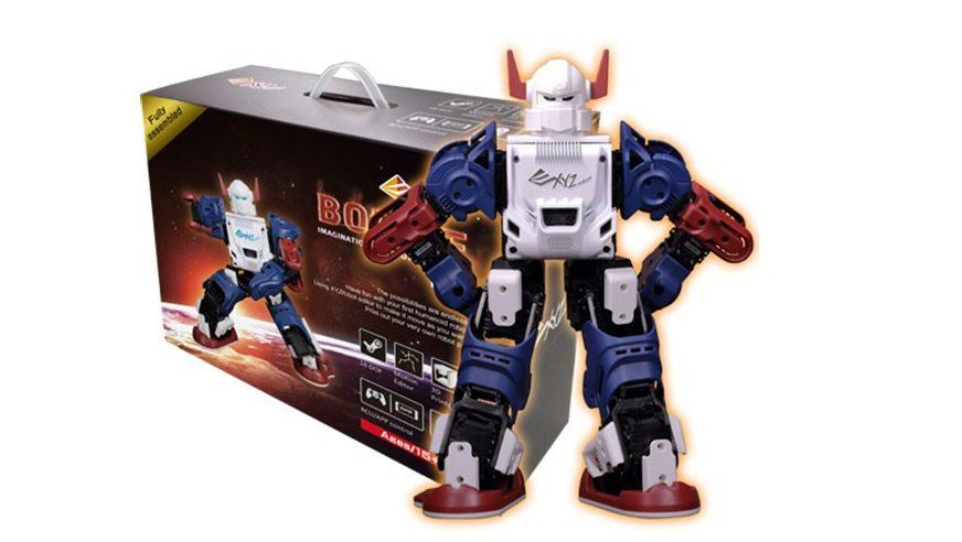 El XYZ Robot Bolide esta disponible en tres formatos diferentes