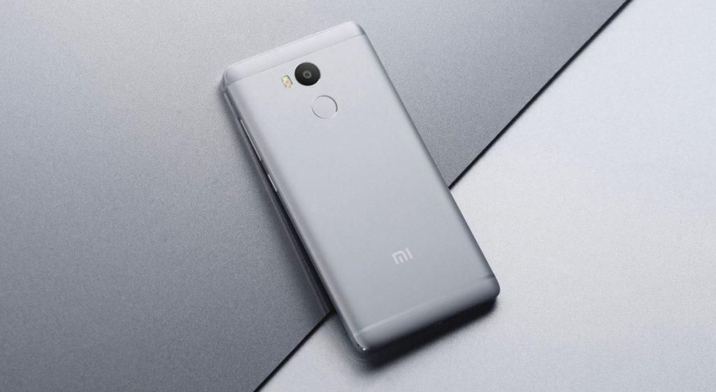El Xiaomi Redmi 4 viene con sensor de huellas dactilares