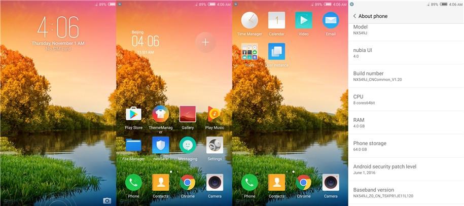 El ZTE Nubia Z11 Mini S corre Android 6.0 junto a la capa Nubia UI 4.0