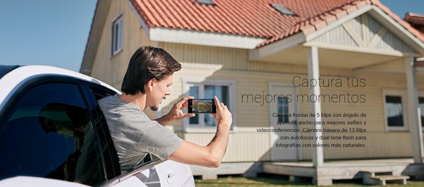Energy Phone Max 2+ Cámara