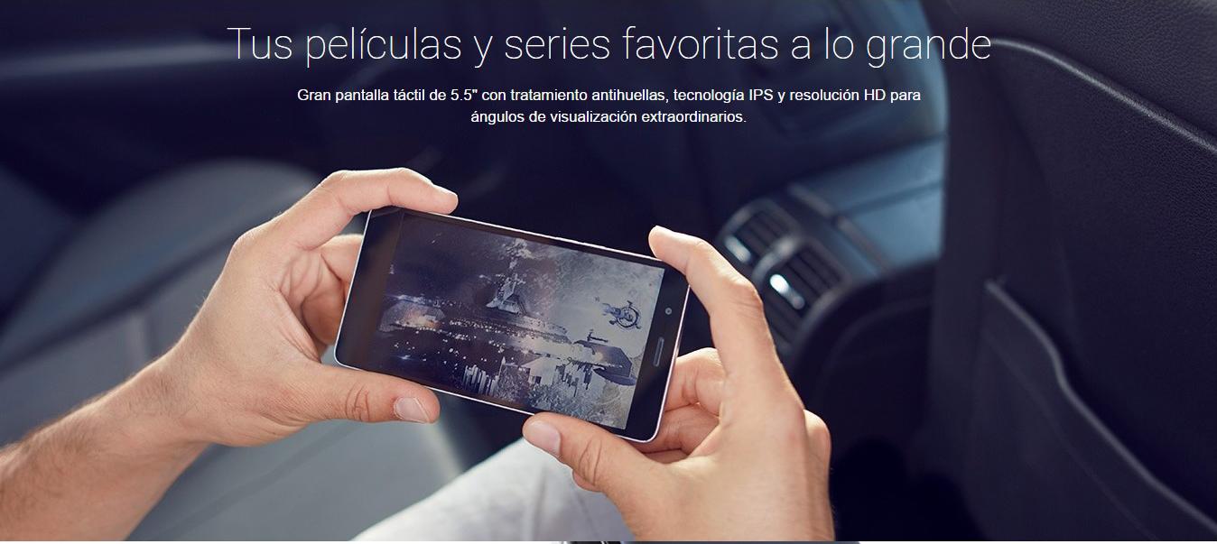 Energy Phone Max 2+ Pantalla