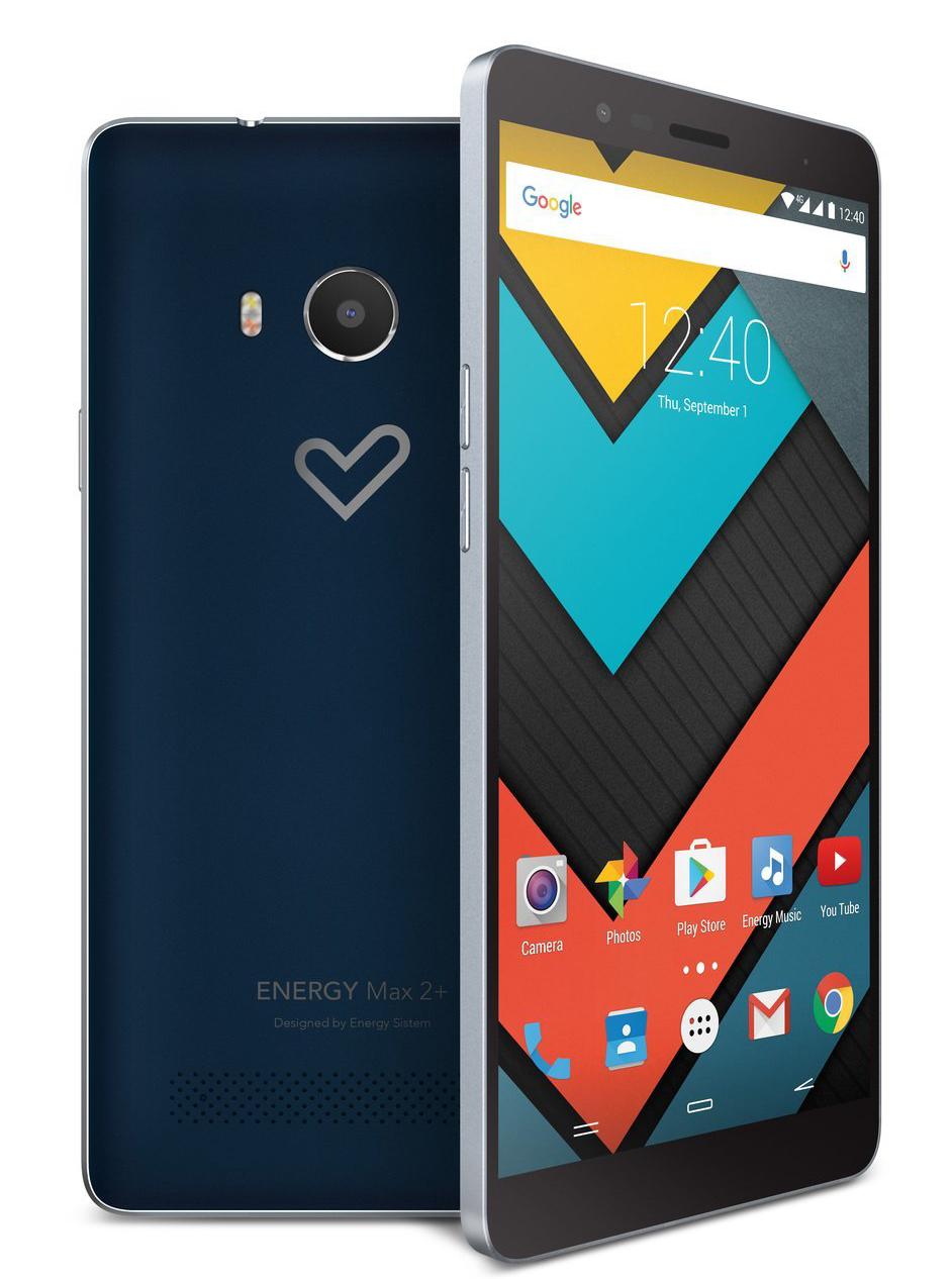 Energy Phone Max 2+ diseño y construcción
