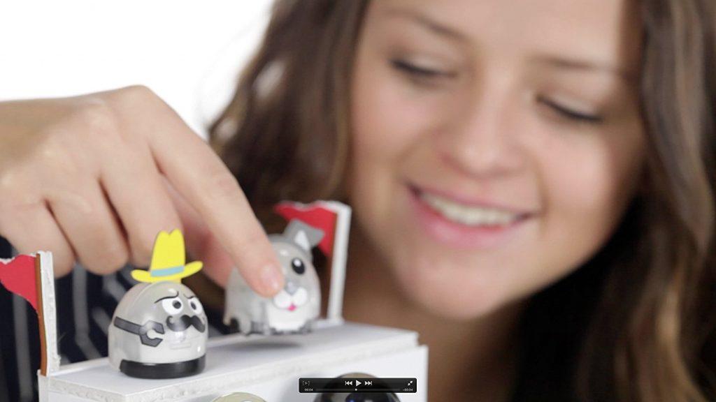 Este mini-robot apenas mide 2,5 cm de diámetro