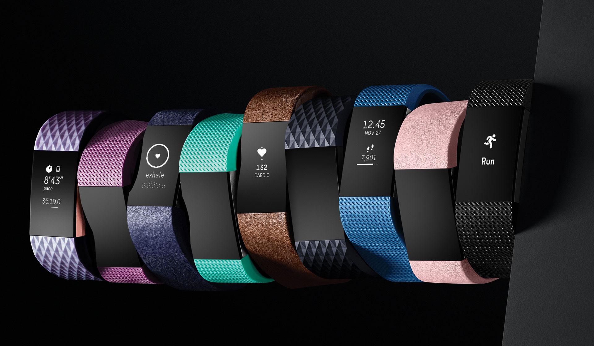 Existe una gran variedad de pulseras Fitbit