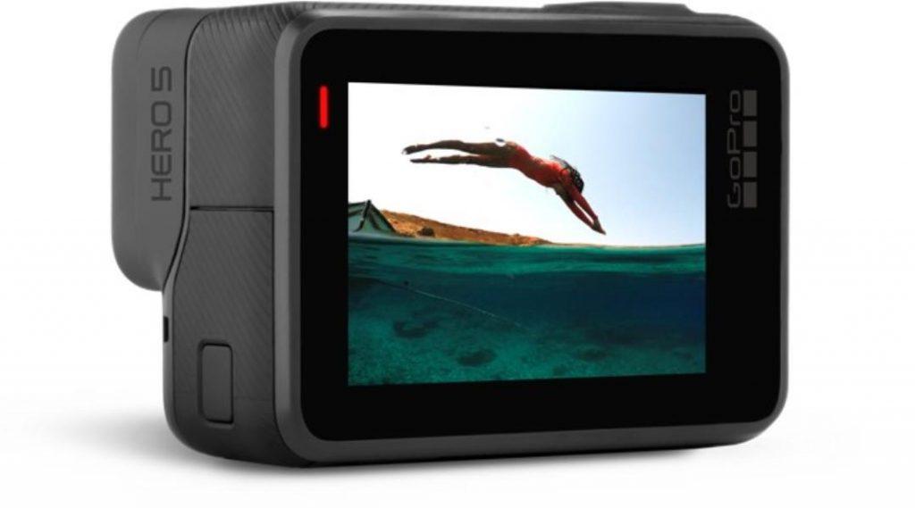 GoPro Hero 5 Black, una cámara compacta con pantalla táctil de 2 pulgadas