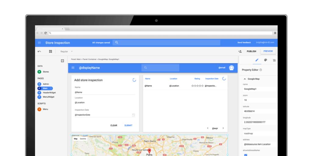 Google App Maker 3