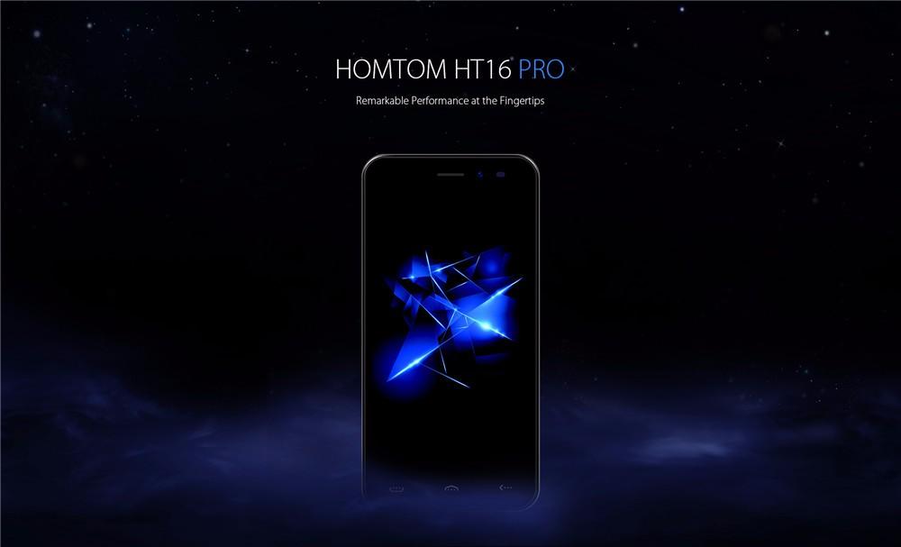 Homtom HT16 Pro, un móvil barato de calidad