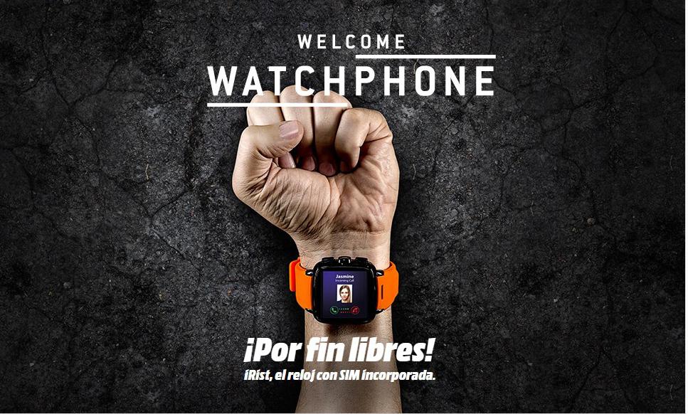 Intex IRist Watchphone - Imagen destacada