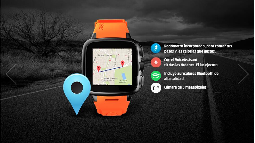 Intex IRist Watchphone funciones