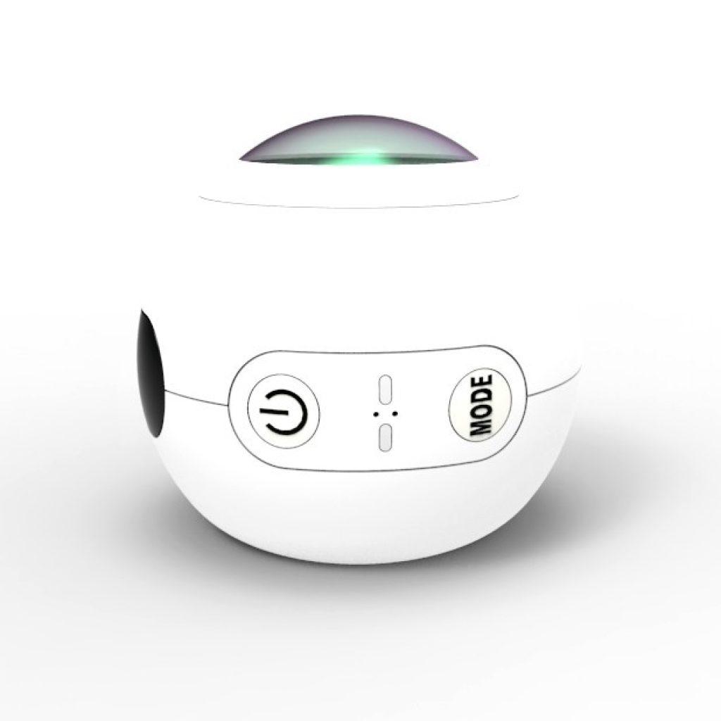 La SJCAM SJ360 llama la atención por su original forma esférica