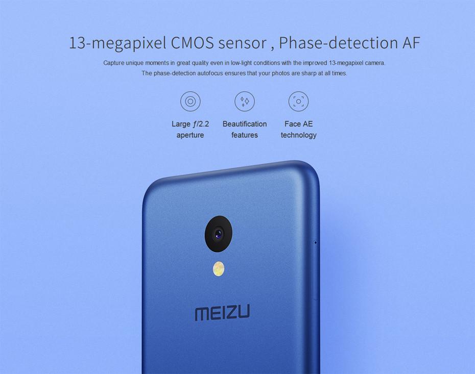 Meizu m5 cámara
