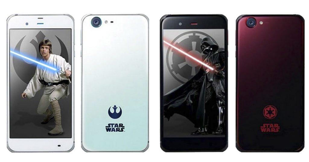 Smartphones Sharp Star Wars