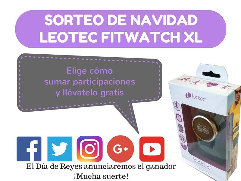 Sorteo smartwatch Leotec