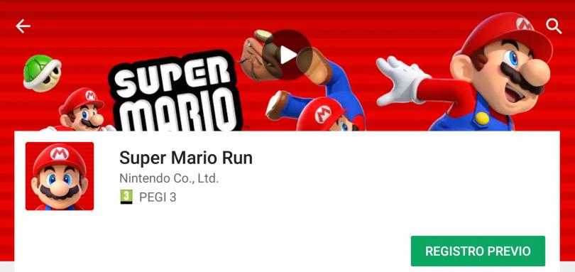 Super Mario Run Aparece En La Tienda Google Play