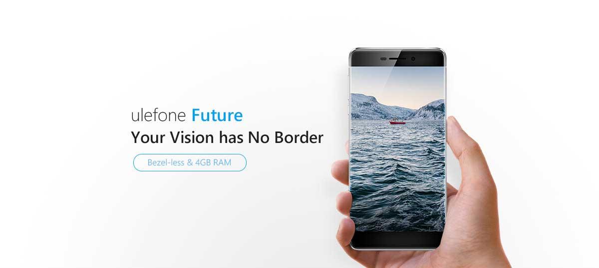 Ulefone Future - Smartphone sin marcos, los mejores móviles del momento.