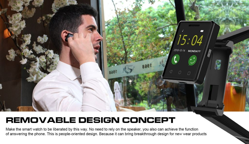 Un reloj inteligente chino que funciona como un smartphone