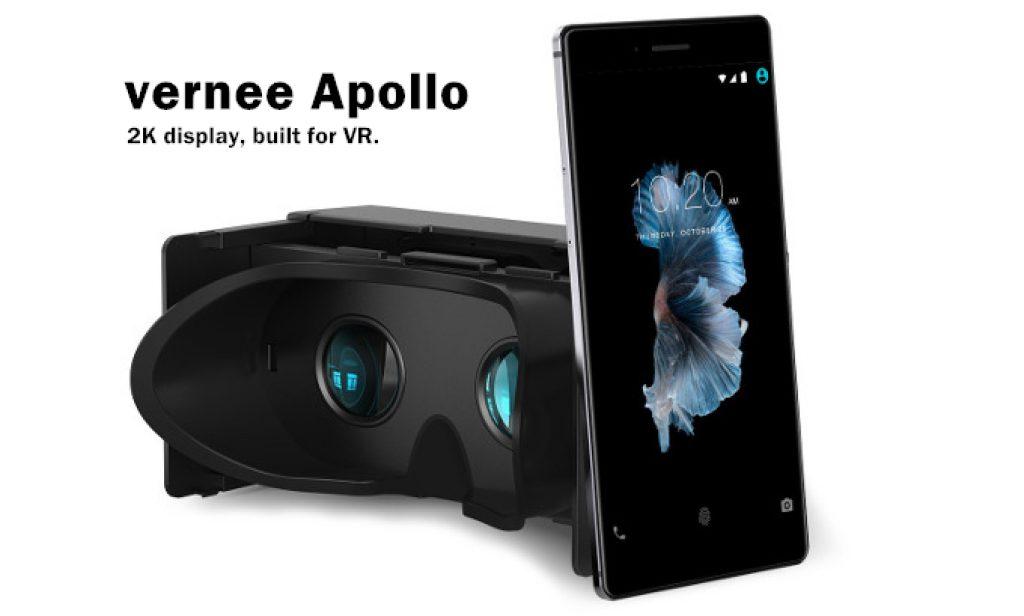 Vernee Apollo es el primer VR del mundo basado en la plataforma Mediatek