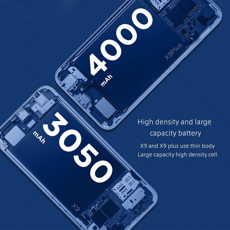 Vivo X9 y Vivo X9 Plus, batería