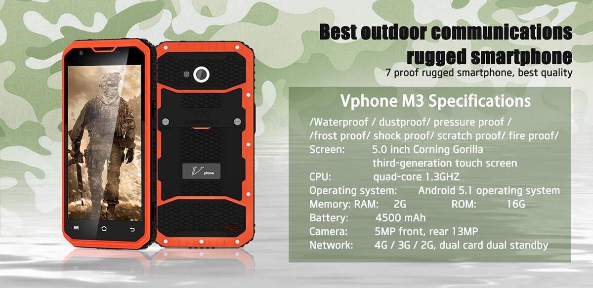 Vphone M3 especificaciones